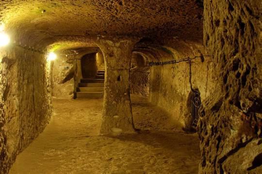 Massive underground tunnels