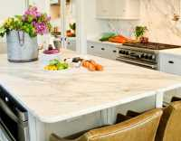 Simple granite countertop