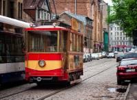 Riga retro tram