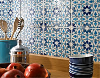 Moroccan tiles kitchen