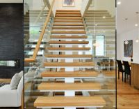 Staircase transparent