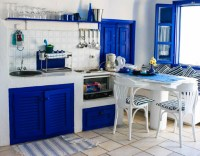 Greek design kitchen
