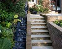 Stairs water