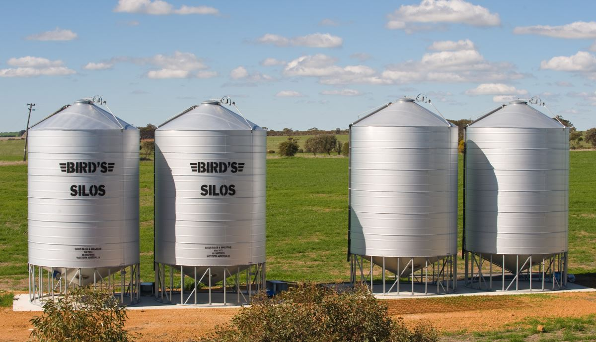 Australia grain silos