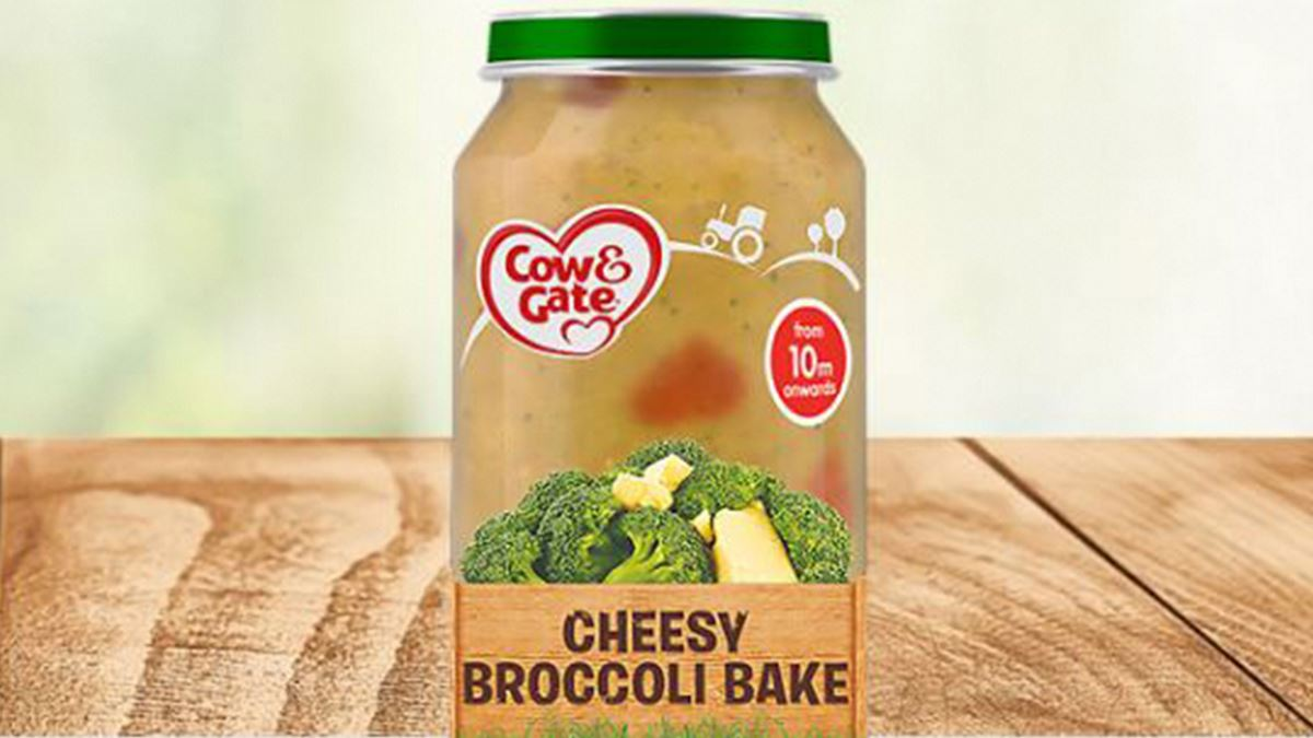 Cow and Gate's Cheesy Broccoli Bake