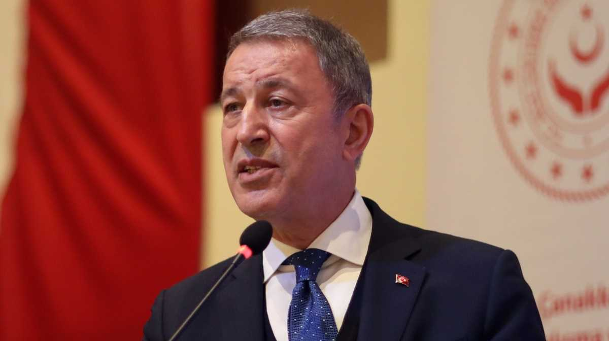 Defence Minister Hulusi Akar