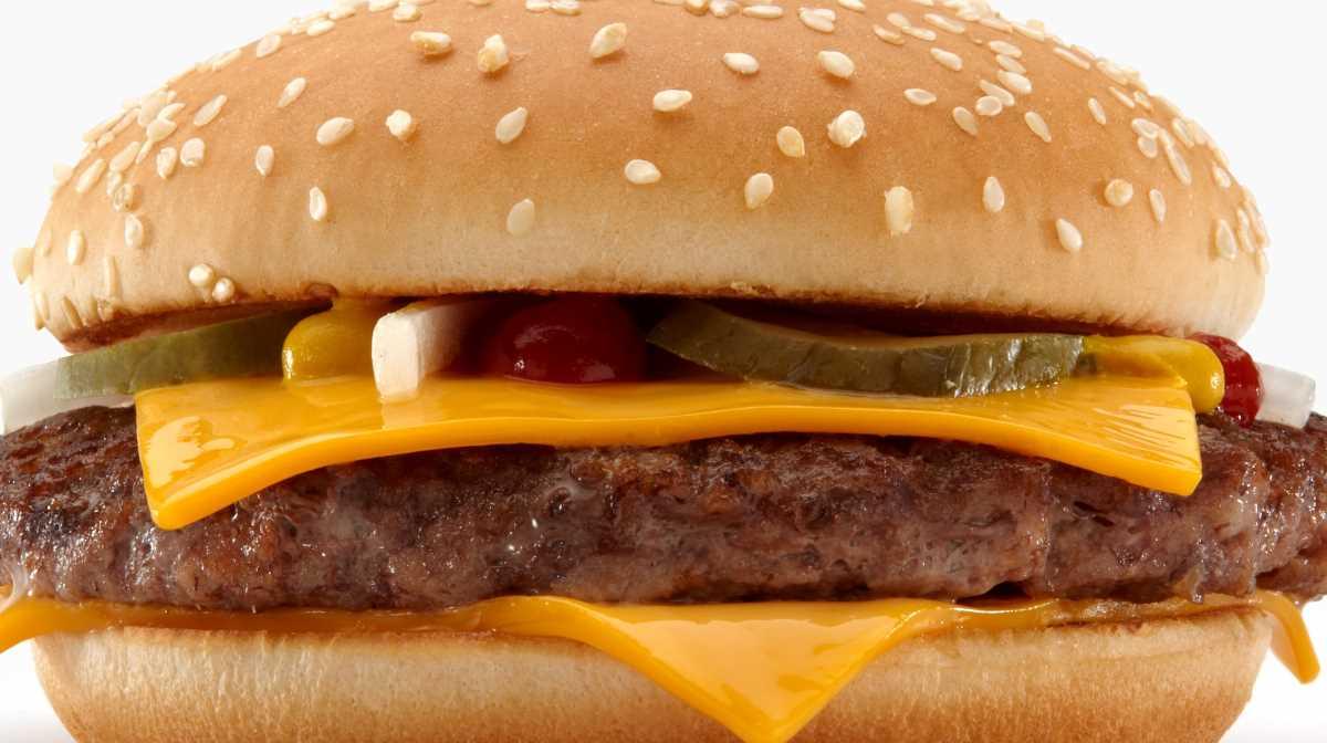 McDonald's Japan beef burgers