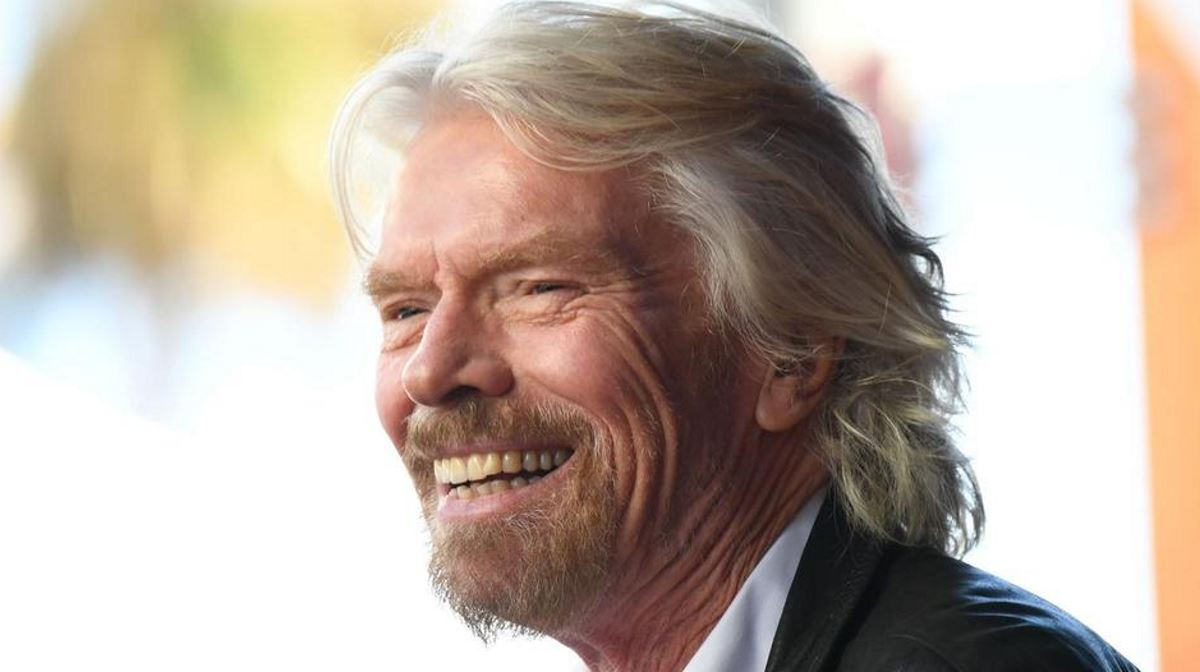 Virgin Founder Sir Richard Branson