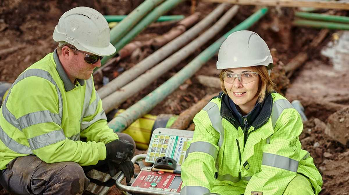 Balfour Beatty workers