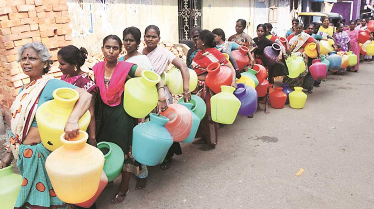 Chennai without water