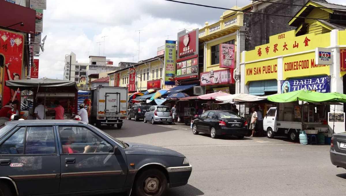 Street in Malaysia