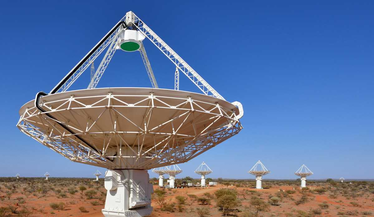Telescope in Western Australia
