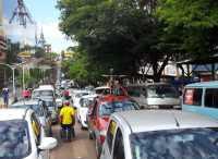 Ciudad del Este traffic