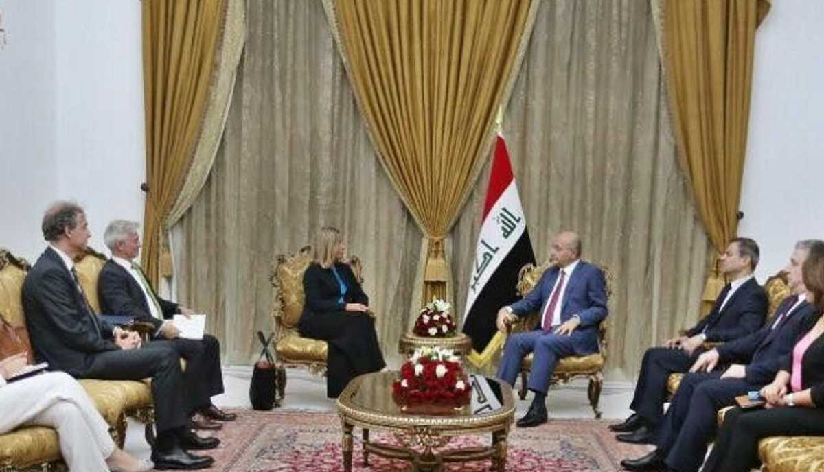 Federica Mogherini went to Iraq