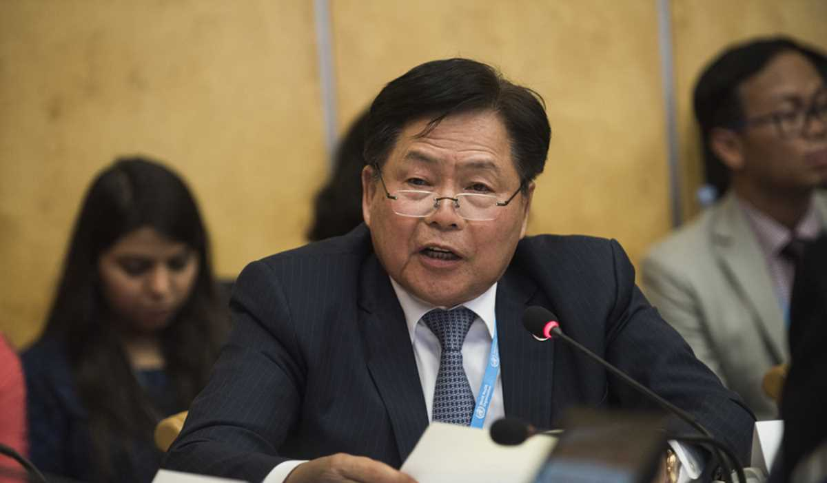 Minister of Health Bounkong Syhavong