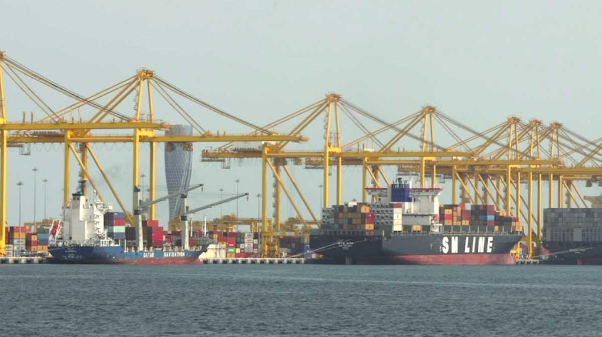 Qatar port