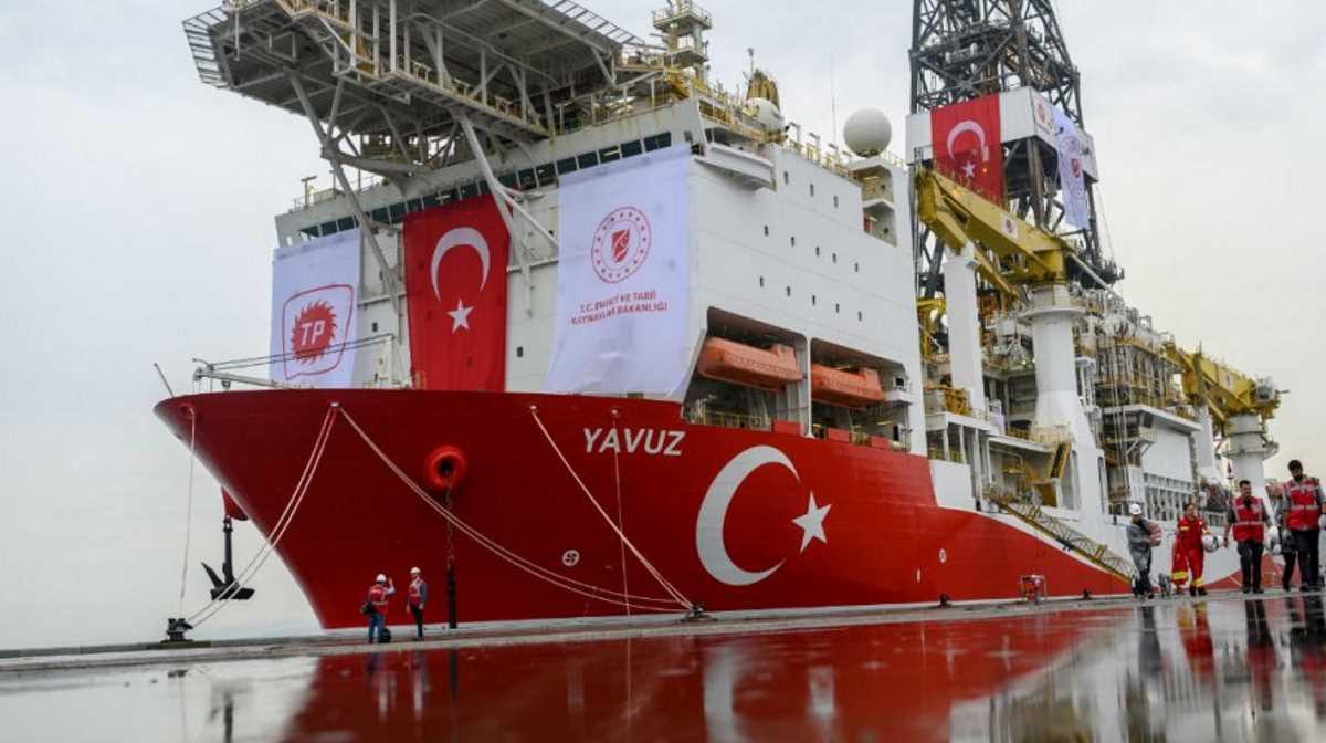 Turkey drilling off Cyprus