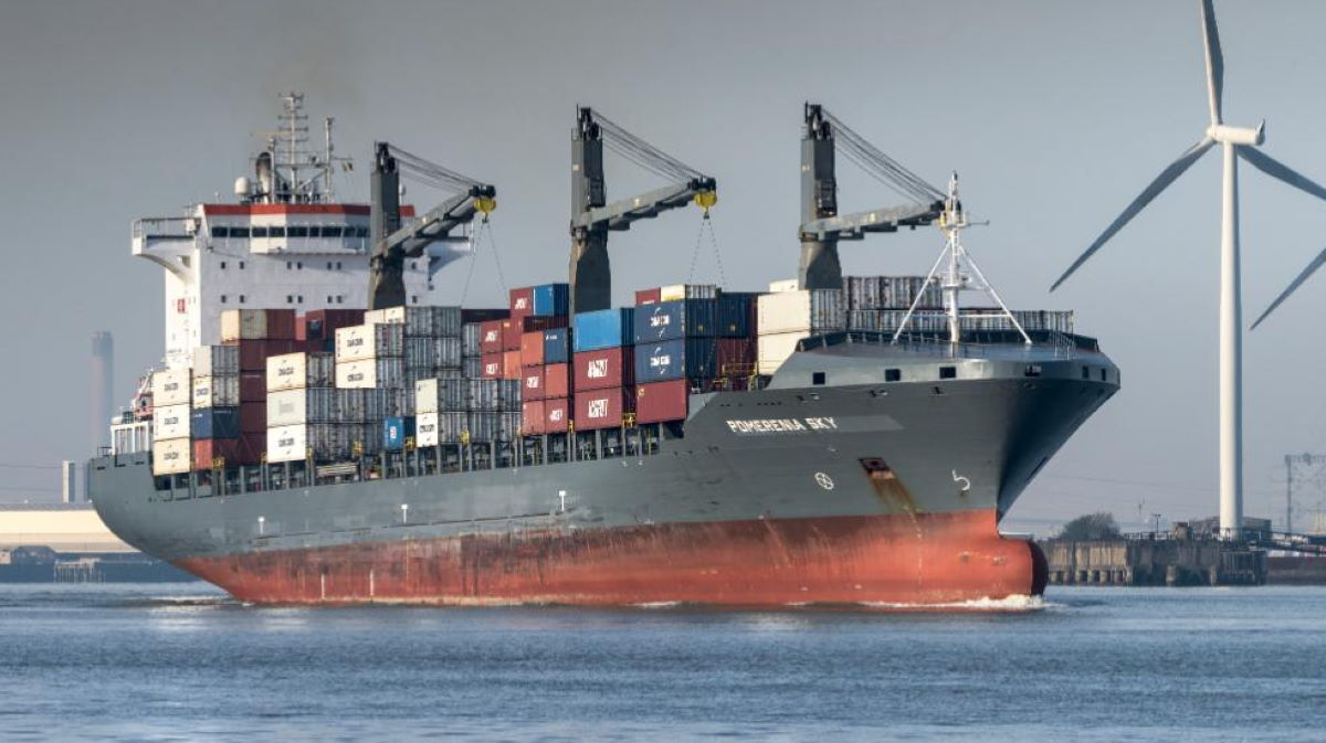 Cargo ship Marmalait