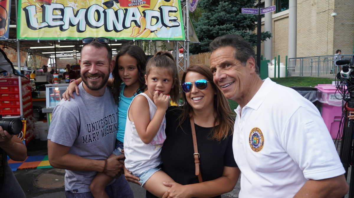 Governor Cuomo New York State Fair