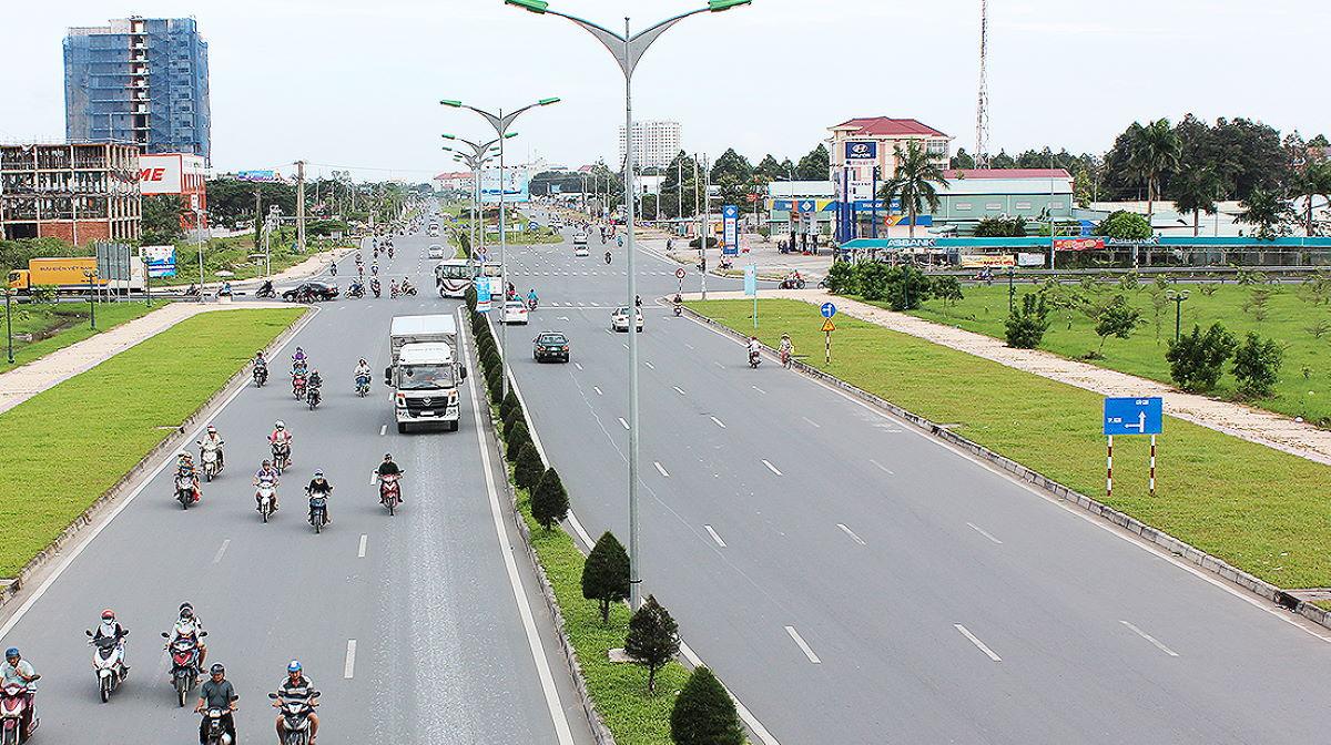 Mekong Delta highway