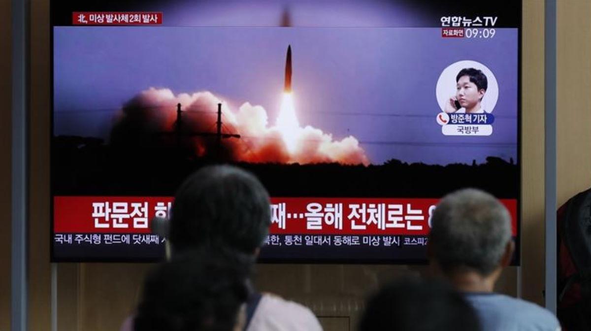 North Korea rockets