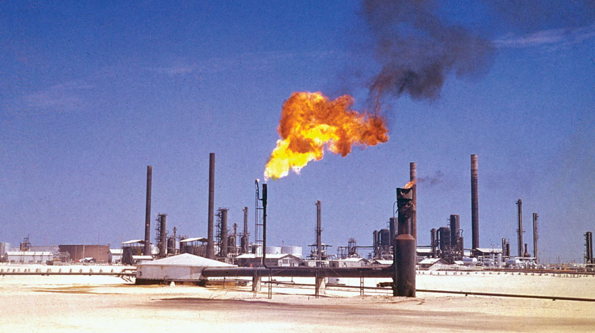 Saudi Arbia oil and gas field