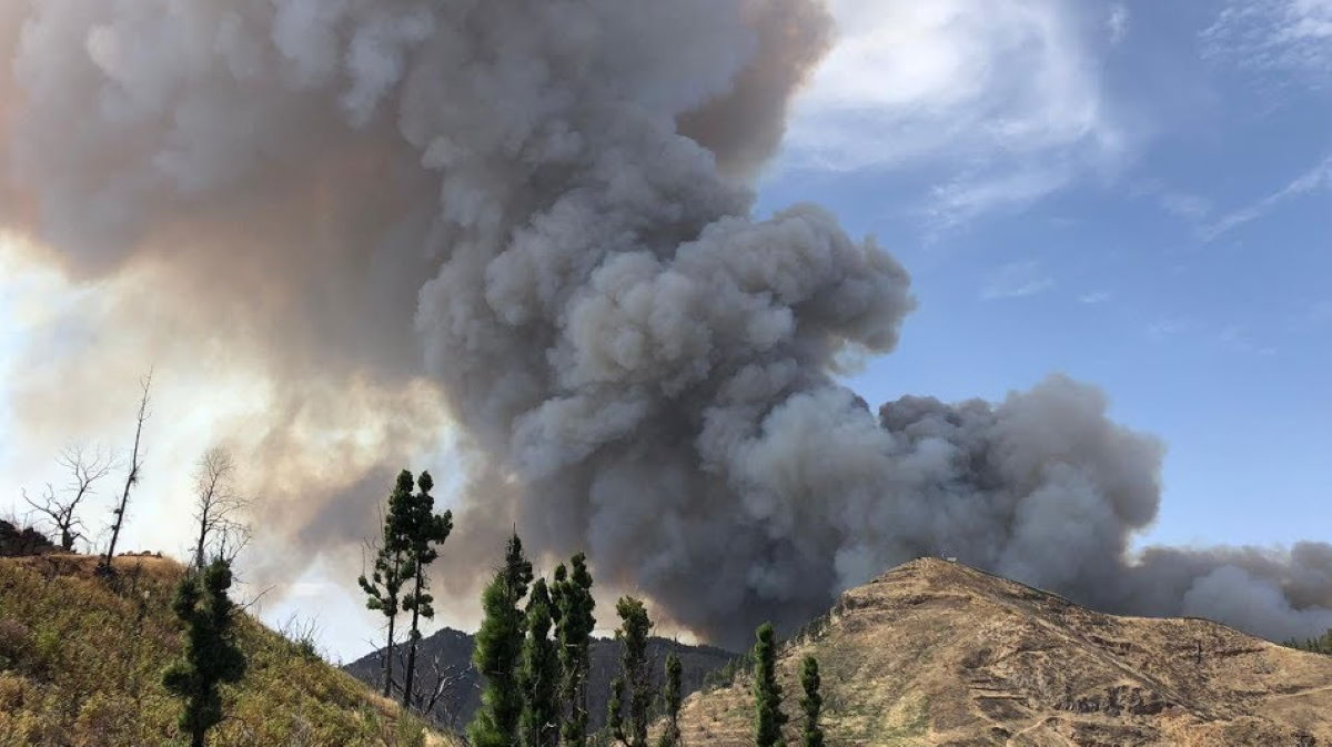 Valleseco fire
