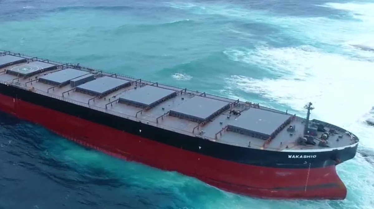 Bulk carrier Wakashio