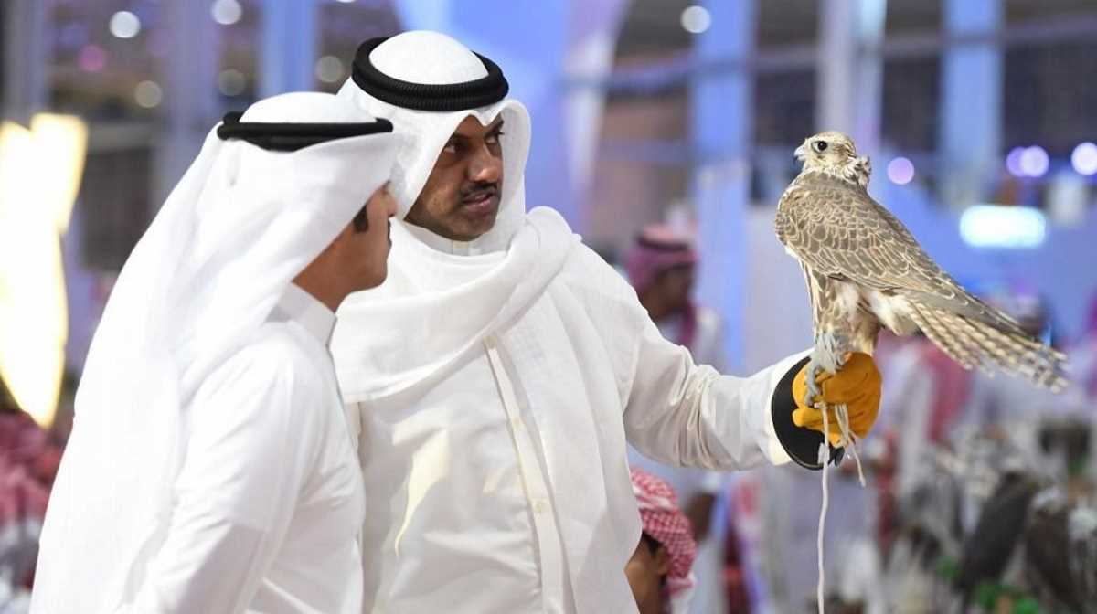 Saudi Falcons and Hunting Exhibition